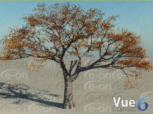 Fig. 2 Tree generated in Vue6.