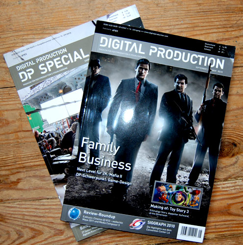digital production, The magazine
